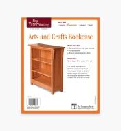 73L2521 - Arts and Crafts Bookcase Plan