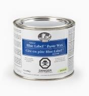 80K4906 - Cire en pâte Blue Label, 1 lb