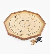 Crokinole side of Deluxe Crokinole/Checker/Chess Board