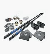 12K9720 - Standard Horizontal Double Fold-Down Bed Hardware Kit
