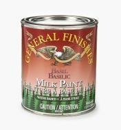 56Z1715 - Basil General Milk Paint, 1 qt.