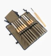58B2530 - Complete Set of 9 & Tool Roll