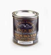 56Z1624 - Gloss Enduro-Var Water-Based Varnish, 1 qt (946ml)