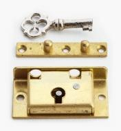 "00P2815 - 1 1/2"" Jewellery-Box Lock"