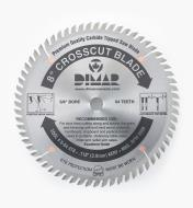 "15T4008 - X-fine Cut-Off Blade, 8"" x 64 tooth"