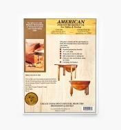 01L5055 - Federal-Style Gateleg Table Plan