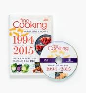 LA875 - 1994 2015 Fine Cooking Magazine Archive DVD-ROM