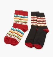67K3121 - Socks, size 8 10 (2 pr.)