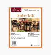 73L2533 - Outdoor Table Plan