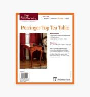73L2539 - Porringer-Top Tea Table Plan