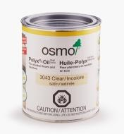 27K2725 - Osmo Polyx 3043 Satin, 750ml (25.5 fl oz)