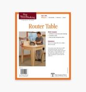73L2525 - Router Table Plan