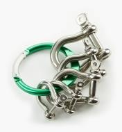 09A0790 - Bow Shackles, Set of 5