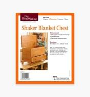 73L2510 - Shaker Blanket Chest Plan