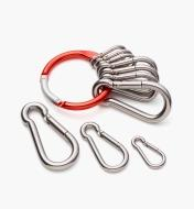 09A0786 - 10-Pc. Carabiner Set