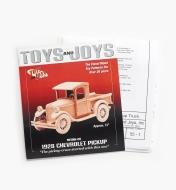 26L1001 - 1928 Chevrolet Pickup Plan