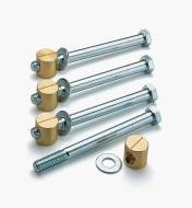 05G0702 - Special Bench Bolts & Nuts, pkg. of 4