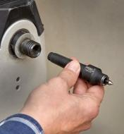 Installing the Safe Driver in a lathe headstock