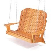 Completed porch swing