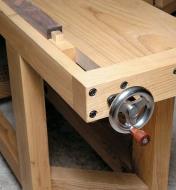 06G0110 - Tail Vise Hardware, Machined Handwheel