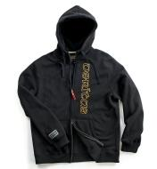 "67K6769 - XXSmall (33""-35"") Black Veritas Zippered Hooded Sweathsirt"