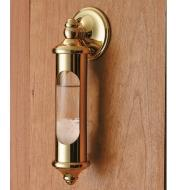 Admiral FitzRoy's Stormglass mounted to a wall using the optional wall mount