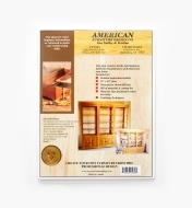 01L5136 - Indian Pueblo Bookcase Plan