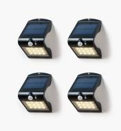 99W7353 - Motion-Sensing Solar LED Light, pkg. of 4