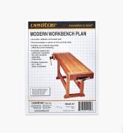 05L0101 - Modern Bench Plan