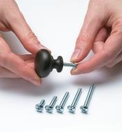 2 Knob/Handle Bolts