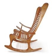 01L5050 - Curly Maple Rocker Plan