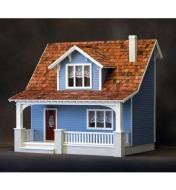 09A0987 - Beachside Bungalow Deluxe Dollhouse Kit