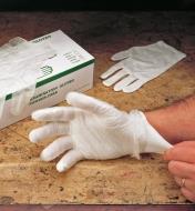 67K9102 - Men's Glove Liners, 3 pr.