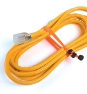 "68K0841 - 12"" Orange Betterband Cinchable Elastic Cords, pair"