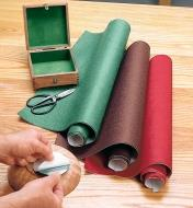 76K0410 - Assorted Felt, pkg. of 3