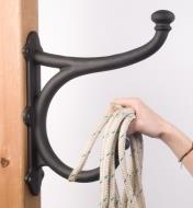 Hanging rope on a Harness Hook