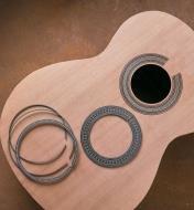 Rosaces pour guitare
