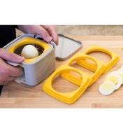 Cutting an egg with the Egg Cutter