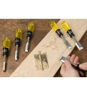 44S0230 - Lee Valley Butt Chisel Set of 6