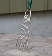 Close-up of Bed Rake head