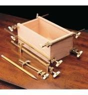 Miniature Brass Bar Clamps