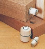 Roto-Hinges installed between two boards