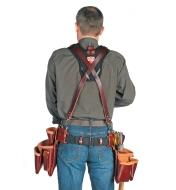 Back view of a man wearing the Stronghold Suspension System