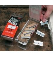 86K0310 - Lames de rasoir, la boîte de 100