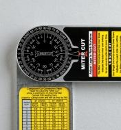 30N0315 - Starrett 5-In-1 Protractor