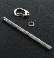 45K2065 - 8cm Centipede, TEC TitaniumKey-Chain Rule