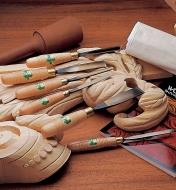 58D9001 - Sayers' Carving Tool Set