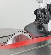 95T0540 - Accessoire de dépoussiérage pour protège-lame pour bancs de scie pour entrepreneur, professionnel et industriel SawStop