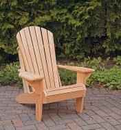 Example of completed Adirondack chair