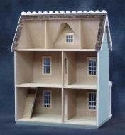 09A0985 - Vermont Farmhouse Dollhouse Kit